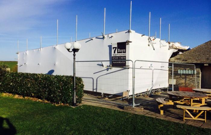Scaffolders Newquay | Scaffolders Cornwall | 7 Bays Scaffolding
