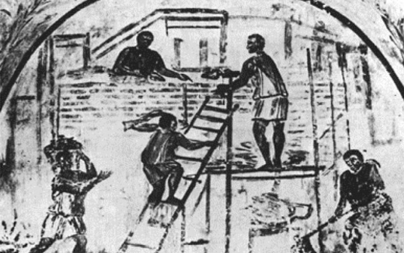 Ancient Scaffolding - the history of scaffolding