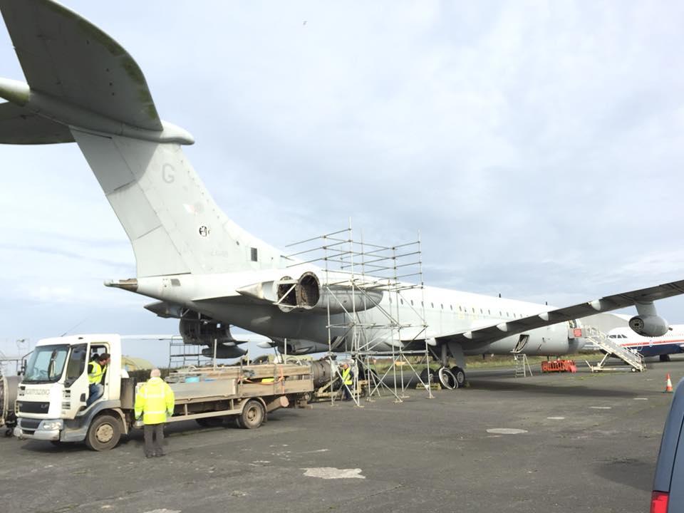 aeroplane scaffolding cornwall