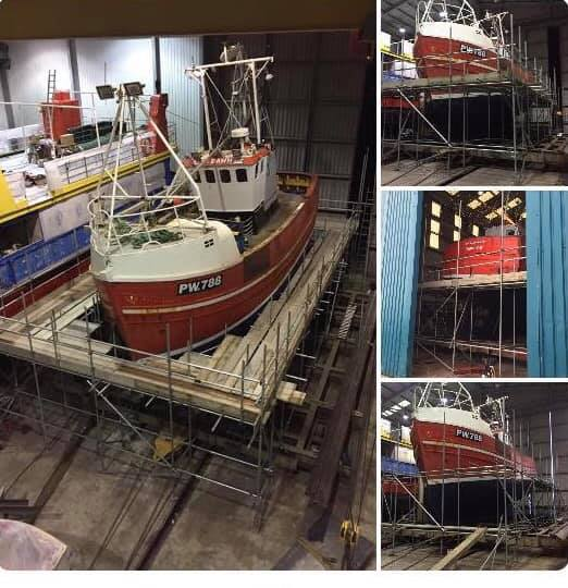 padstow scaffolding company