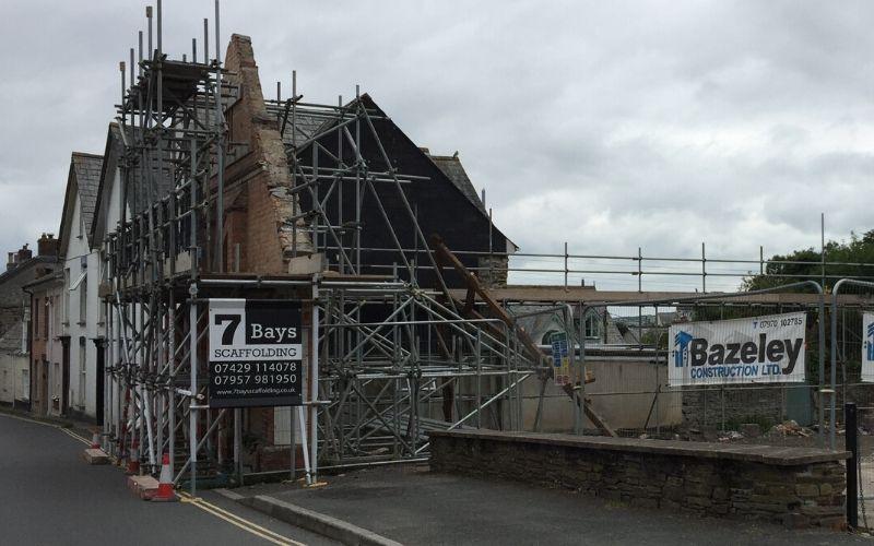 specialist scaffolders in cornwall
