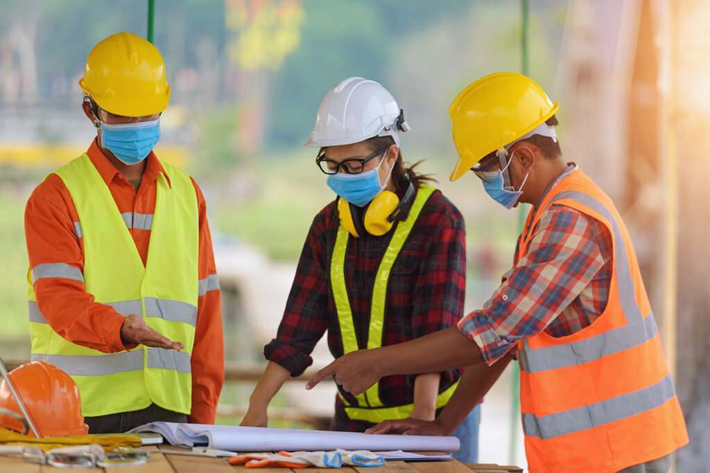 construction site safety covid19