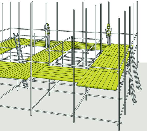 birdcage scaffolding in cornwall