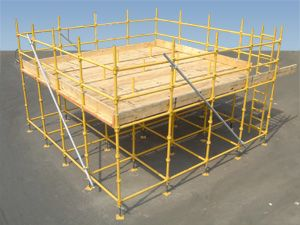 where can i find birdcage scaffolding in cornwall